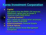 korea investment corporation