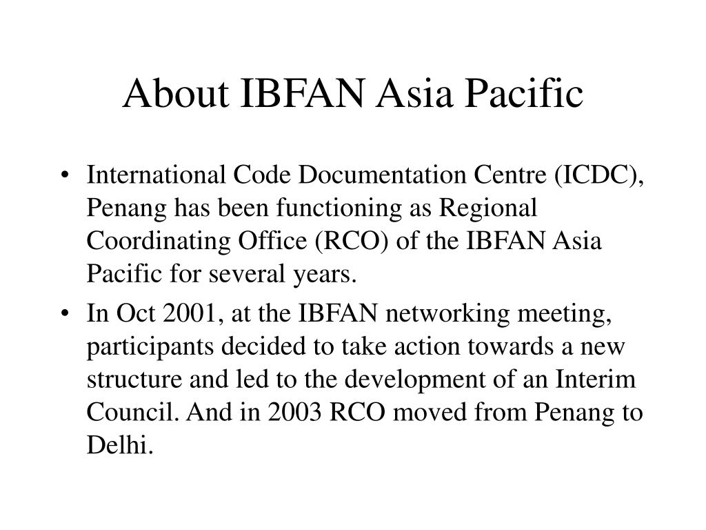 About IBFAN Asia Pacific