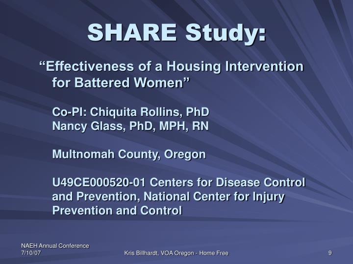 SHARE Study: