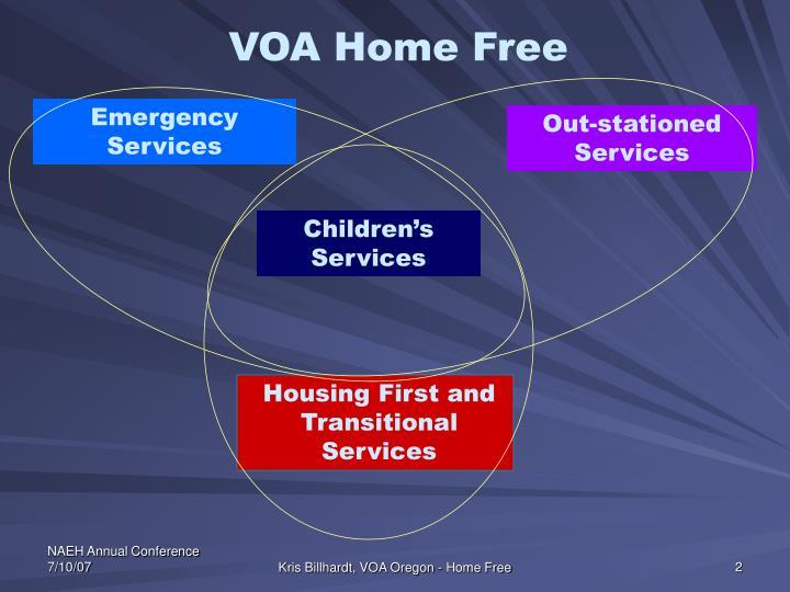 VOA Home Free
