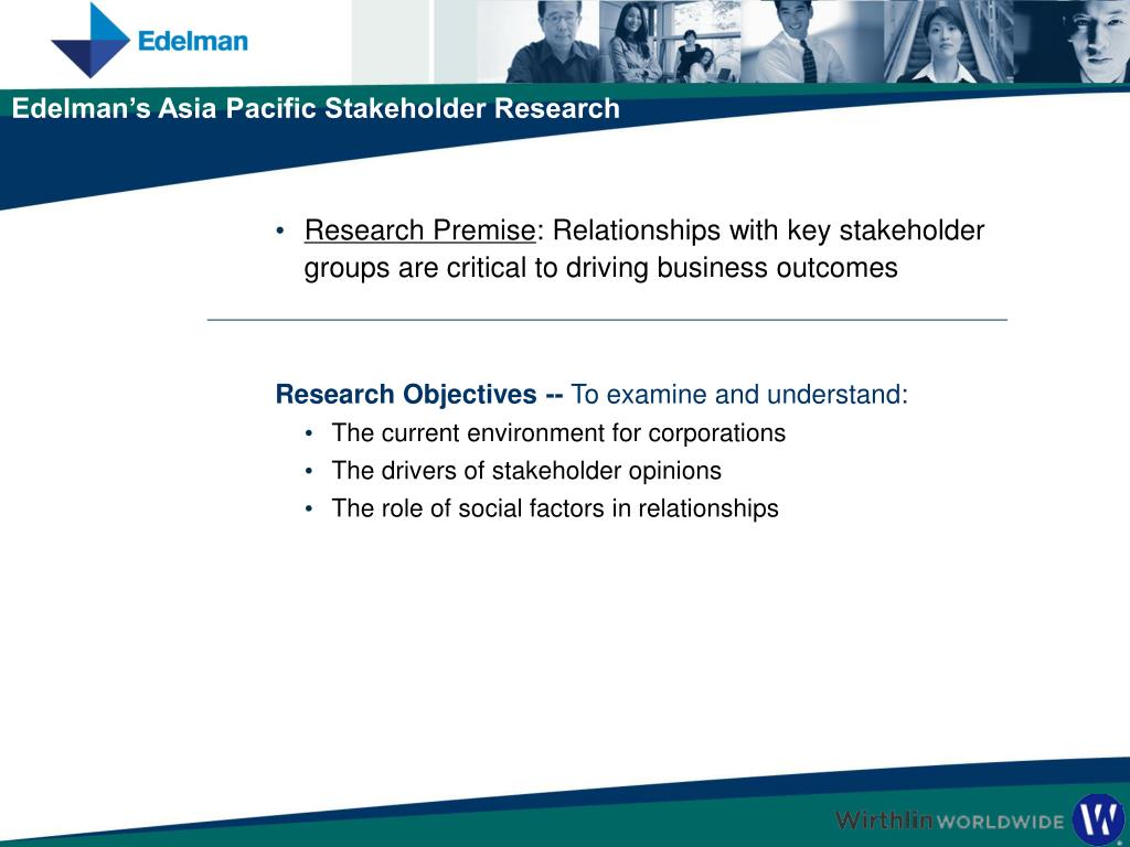 Research Objectives --
