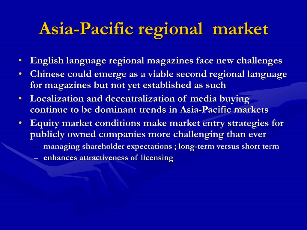 Asia-Pacific regional  market