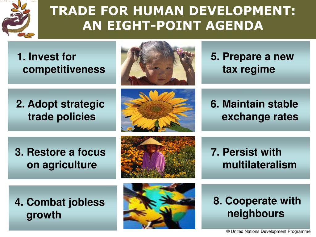 TRADE FOR HUMAN DEVELOPMENT: