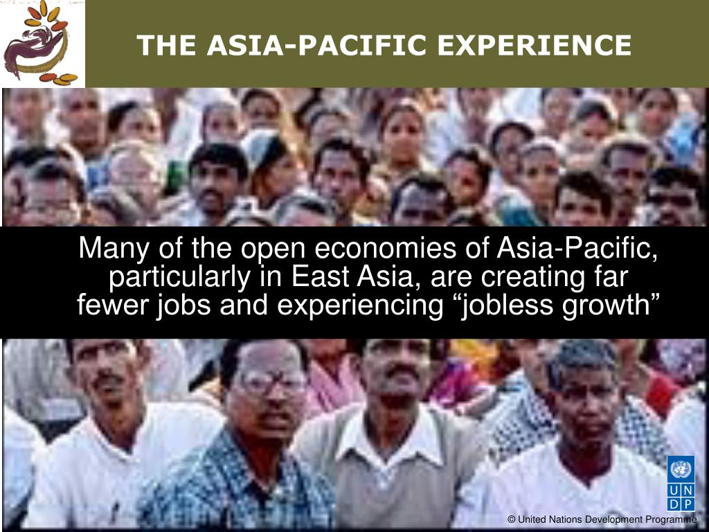 THE ASIA-PACIFIC EXPERIENCE