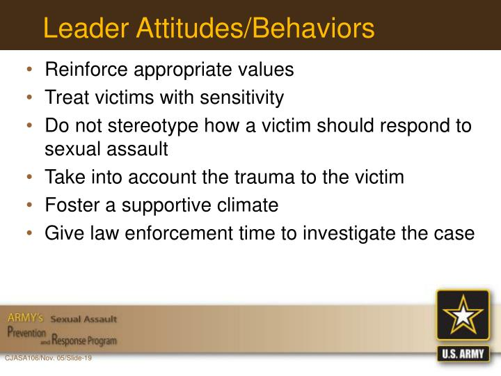 Leader Attitudes/Behaviors