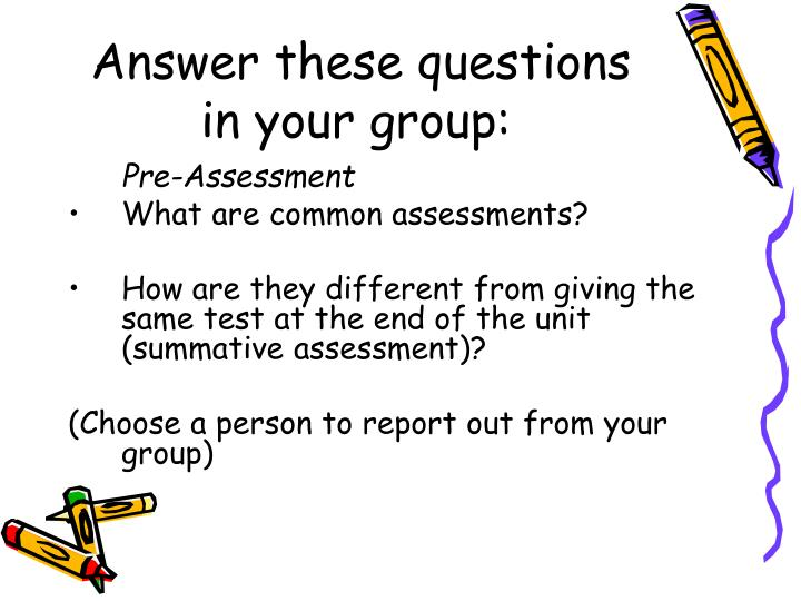 Answer these questions in your group:
