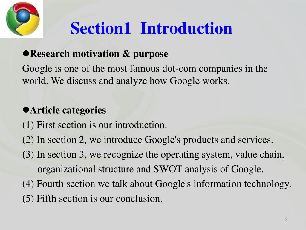 Section1  Introduction