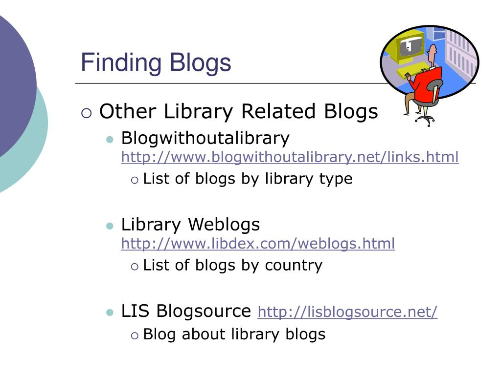 Finding Blogs