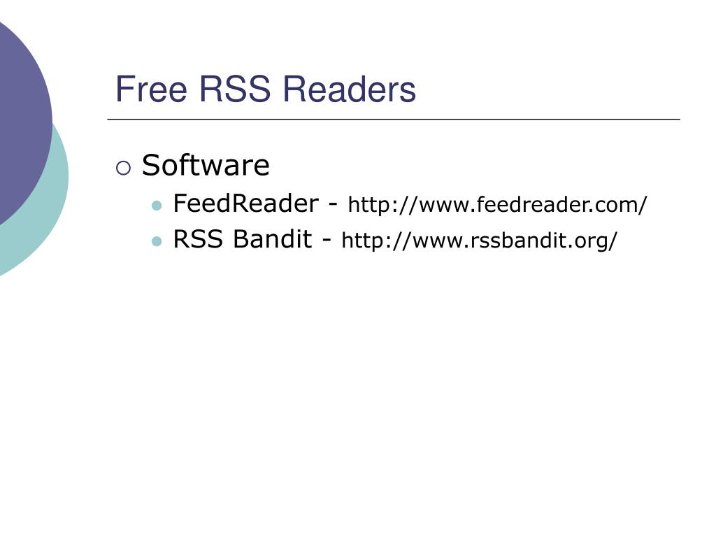 Free RSS Readers