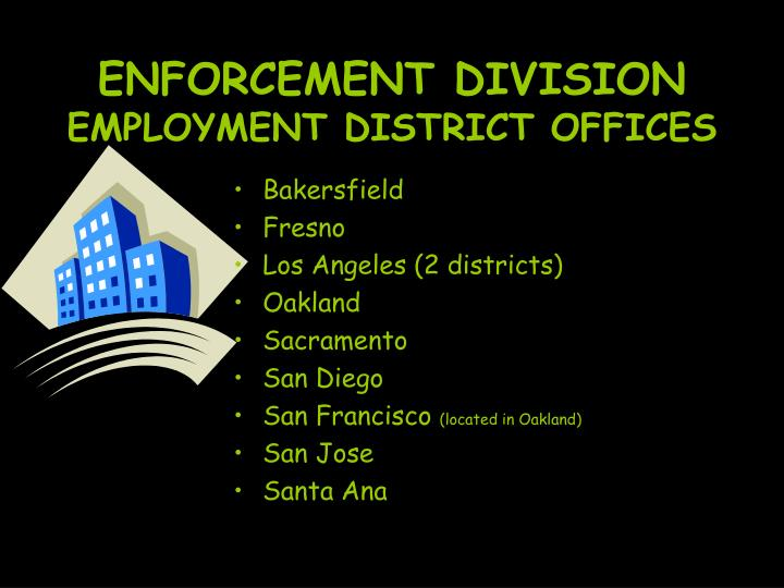 ENFORCEMENT DIVISION