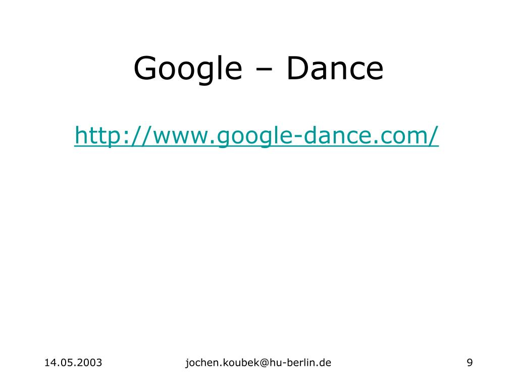 Google – Dance