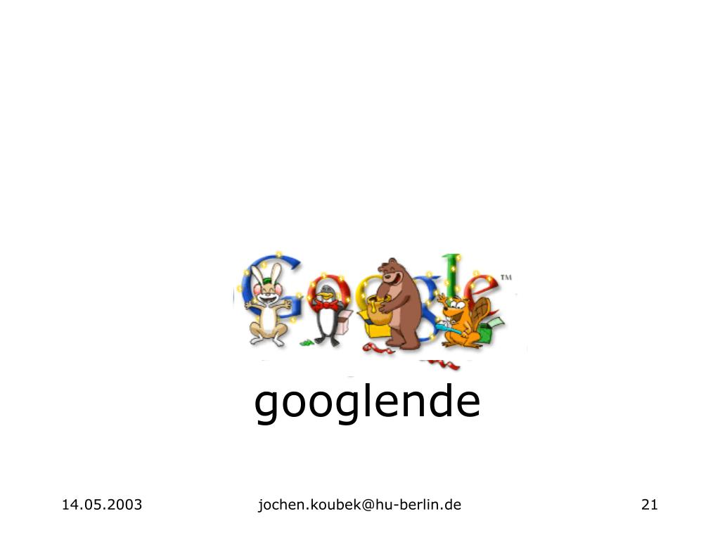 googlende