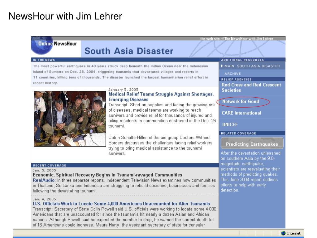 NewsHour with Jim Lehrer