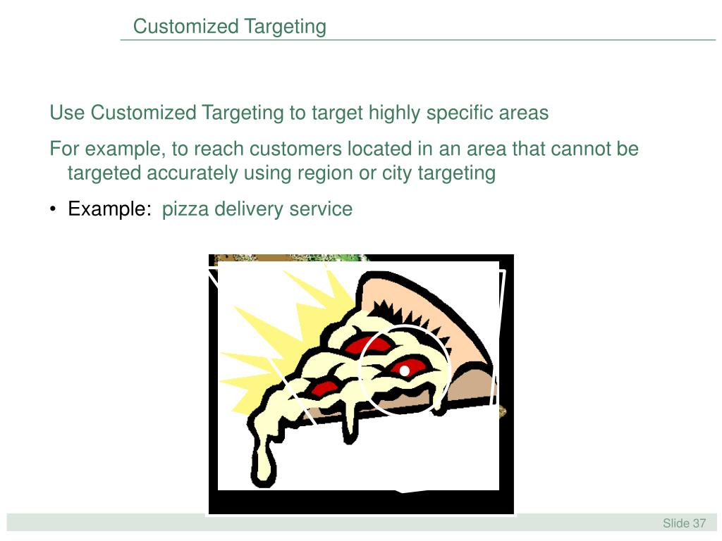 Customized Targeting