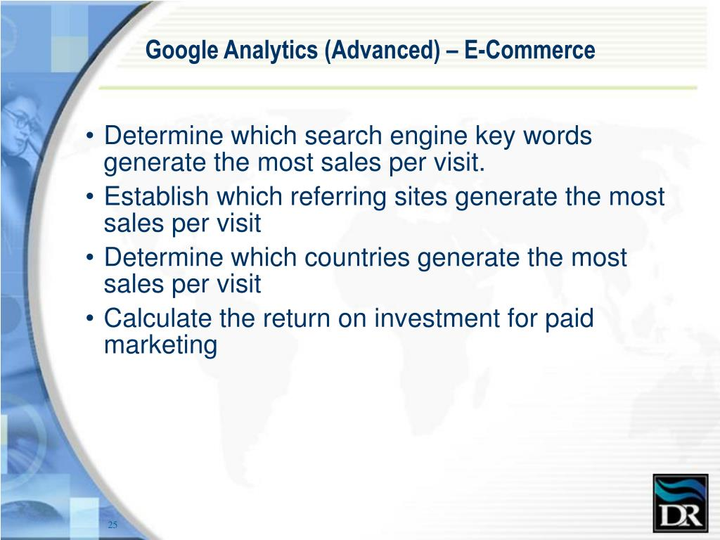 Google Analytics (Advanced) – E-Commerce