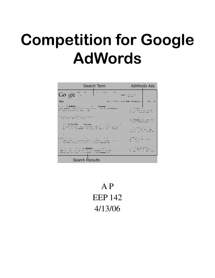 Competition for google adwords l.jpg