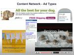 content network ad types