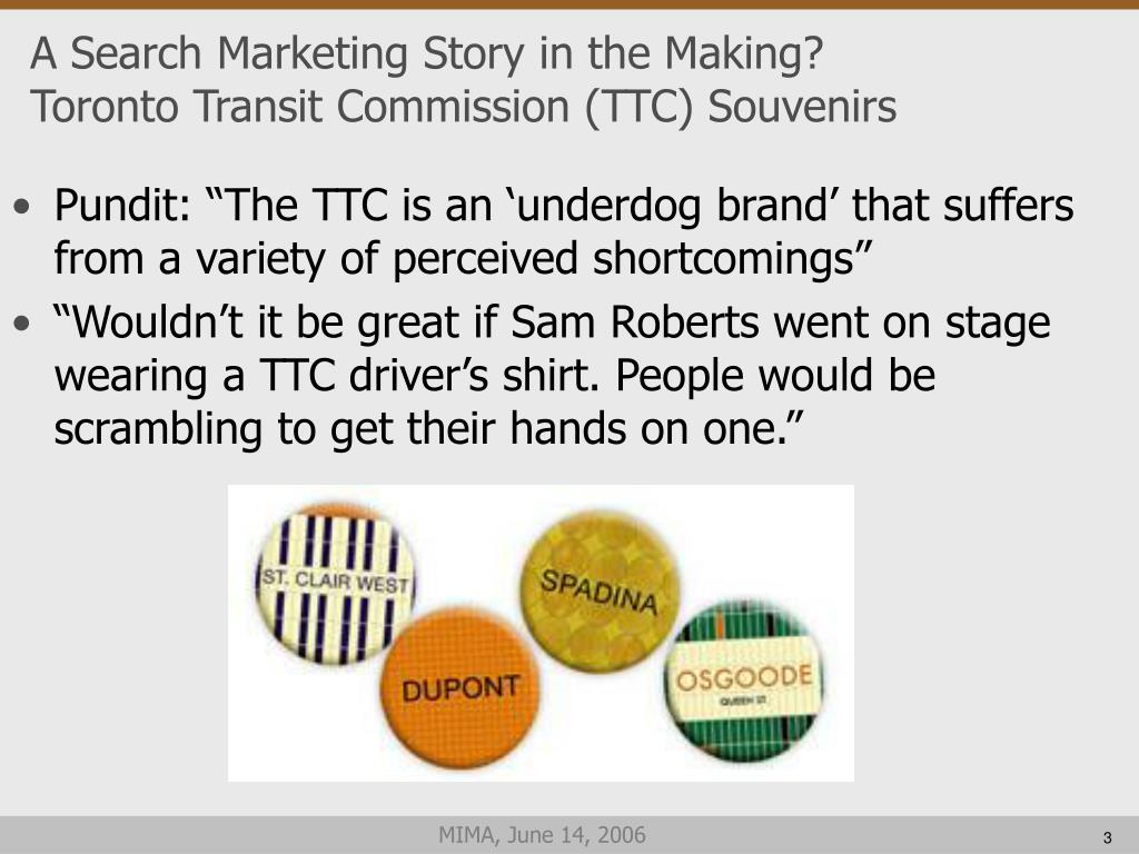 A Search Marketing Story in the Making?