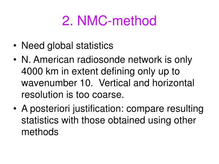 2. NMC-method
