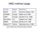 nmc method usage