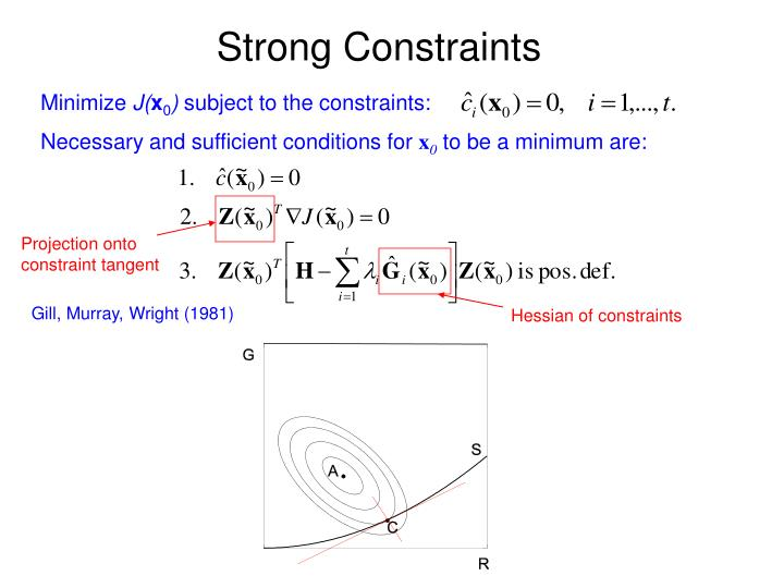 Strong Constraints