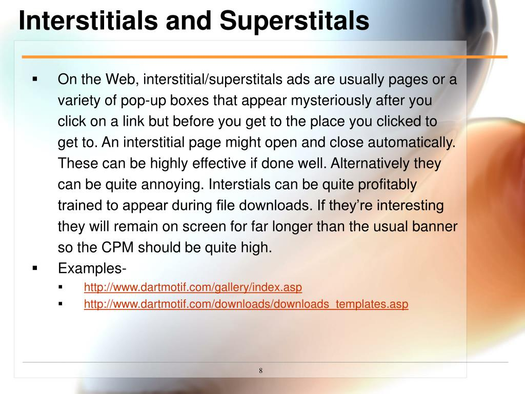 Interstitials and Superstitals