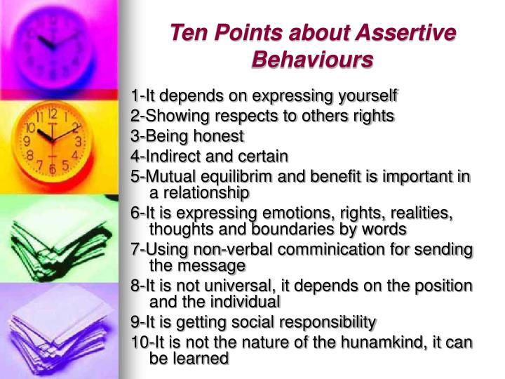 assertiveness expressing positive and negative emotions Assertiveness – meaning, skills and communication assertiveness is a tool for expressing oneself confidently and a way of saying yes or no  expressing emotions.