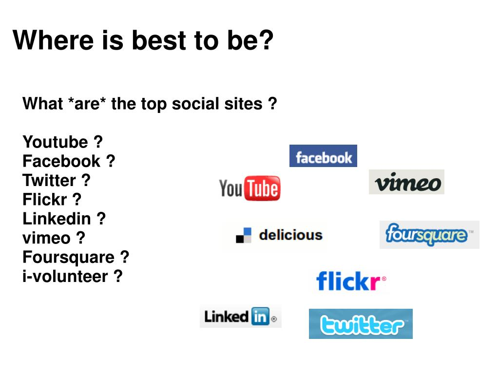 Where is best to be?