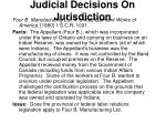 judicial decisions on jurisdiction3