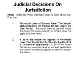 judicial decisions on jurisdiction7