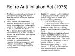 ref re anti inflation act 1976