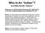 who is an indian2