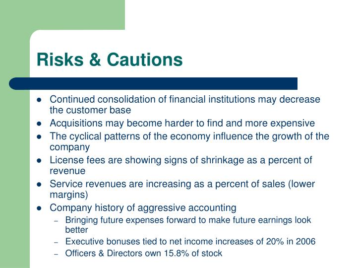 Risks & Cautions