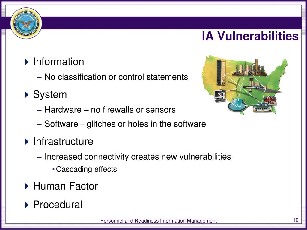 IA Vulnerabilities