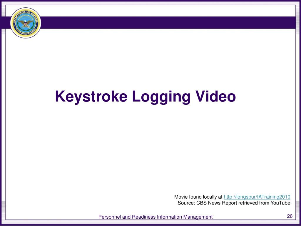 Keystroke Logging Video