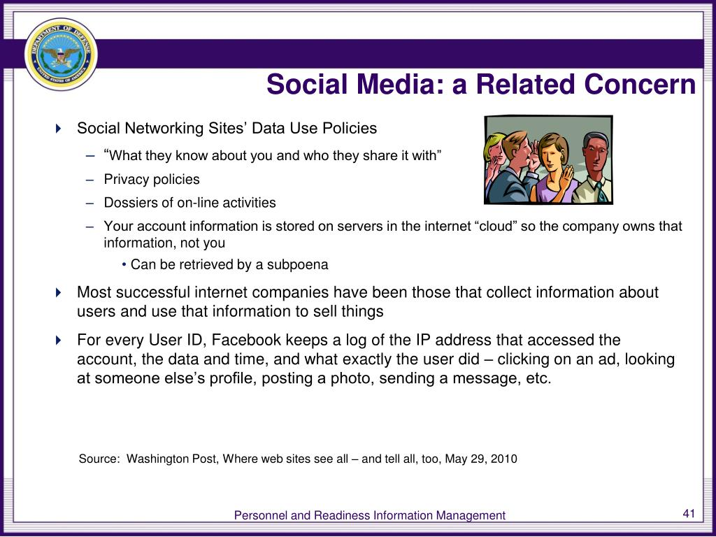 Social Media: a Related Concern