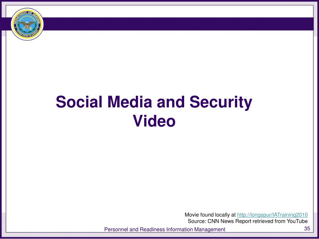 Social Media and Security Video