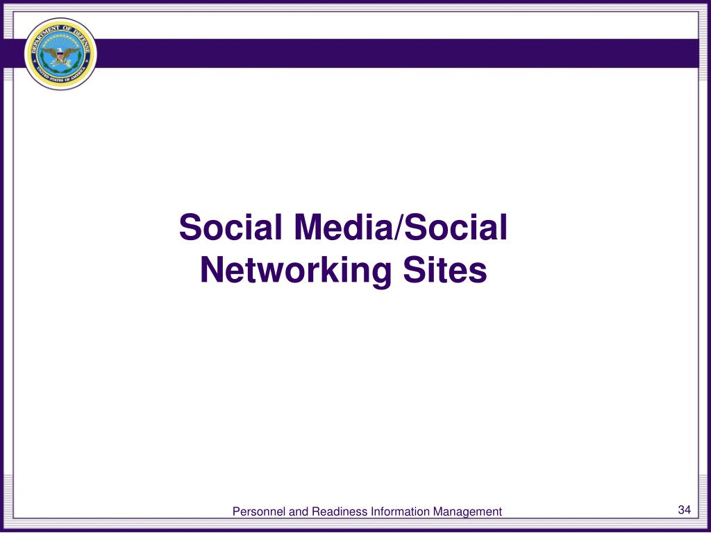 Social Media/Social Networking Sites