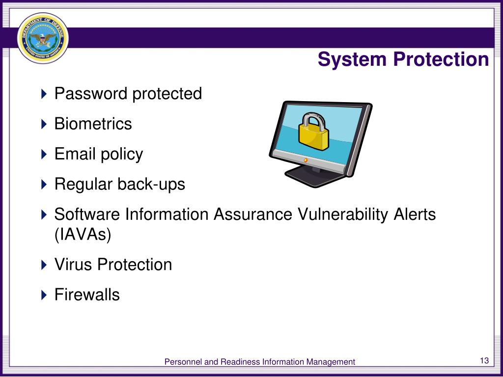 System Protection