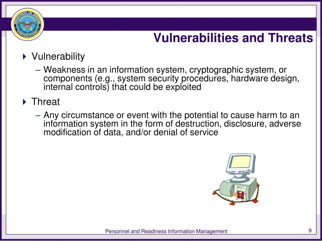 Vulnerabilities and Threats