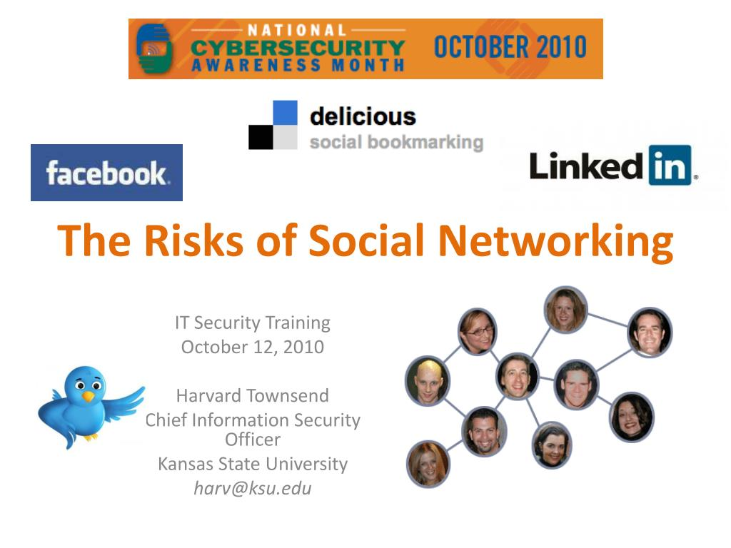 the risks of social networking