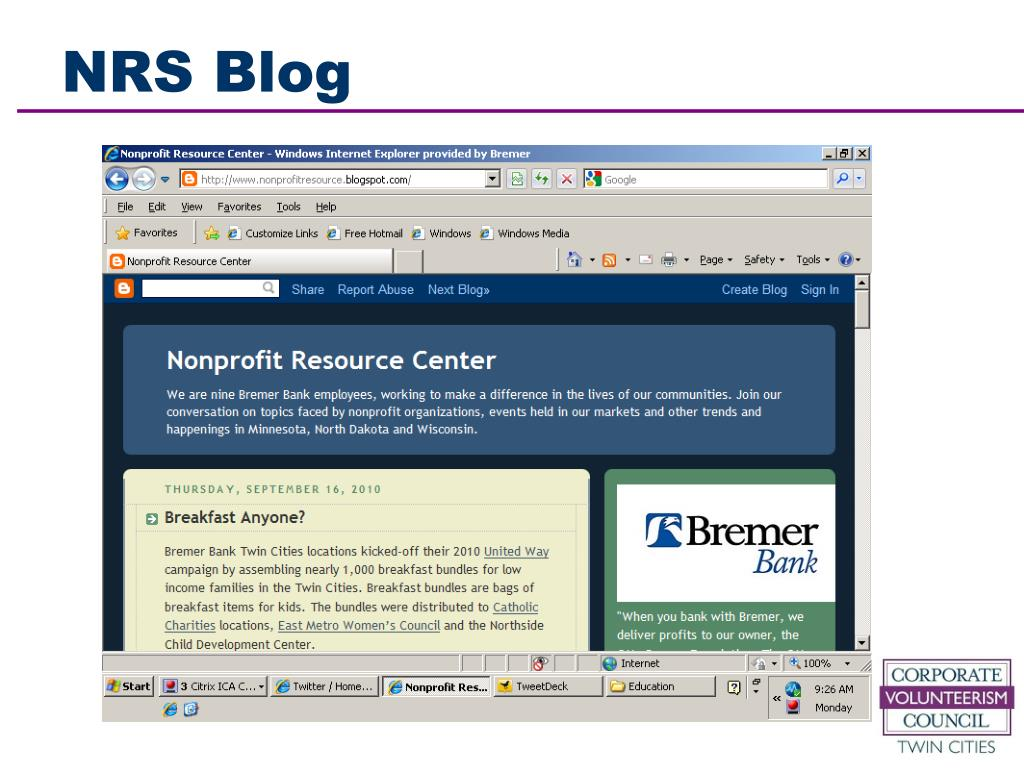 NRS Blog