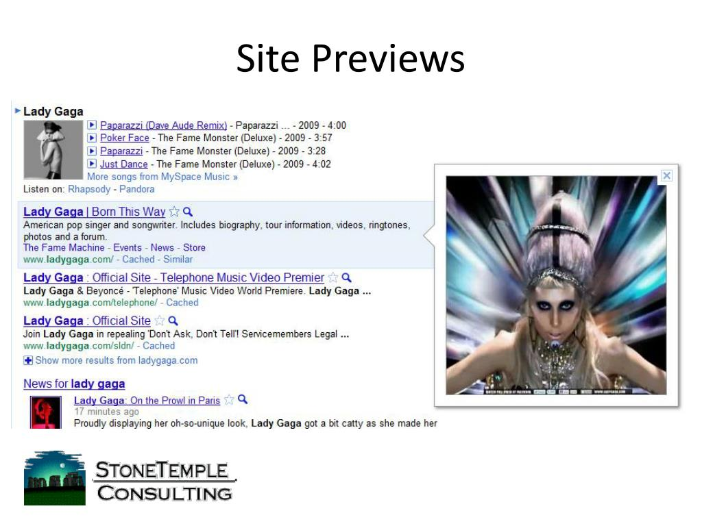 Site Previews
