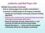 authority and hub pages 24