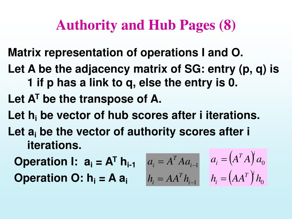 Authority and Hub Pages (8)
