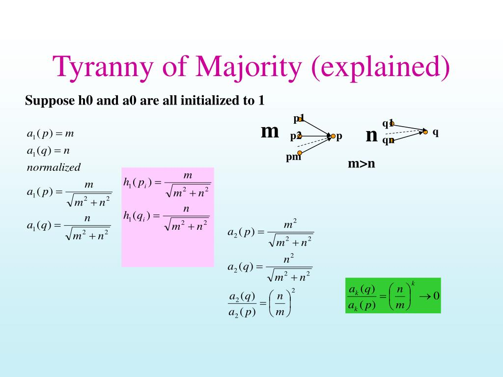 Tyranny of Majority (explained)