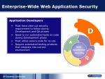 enterprise wide web application security49