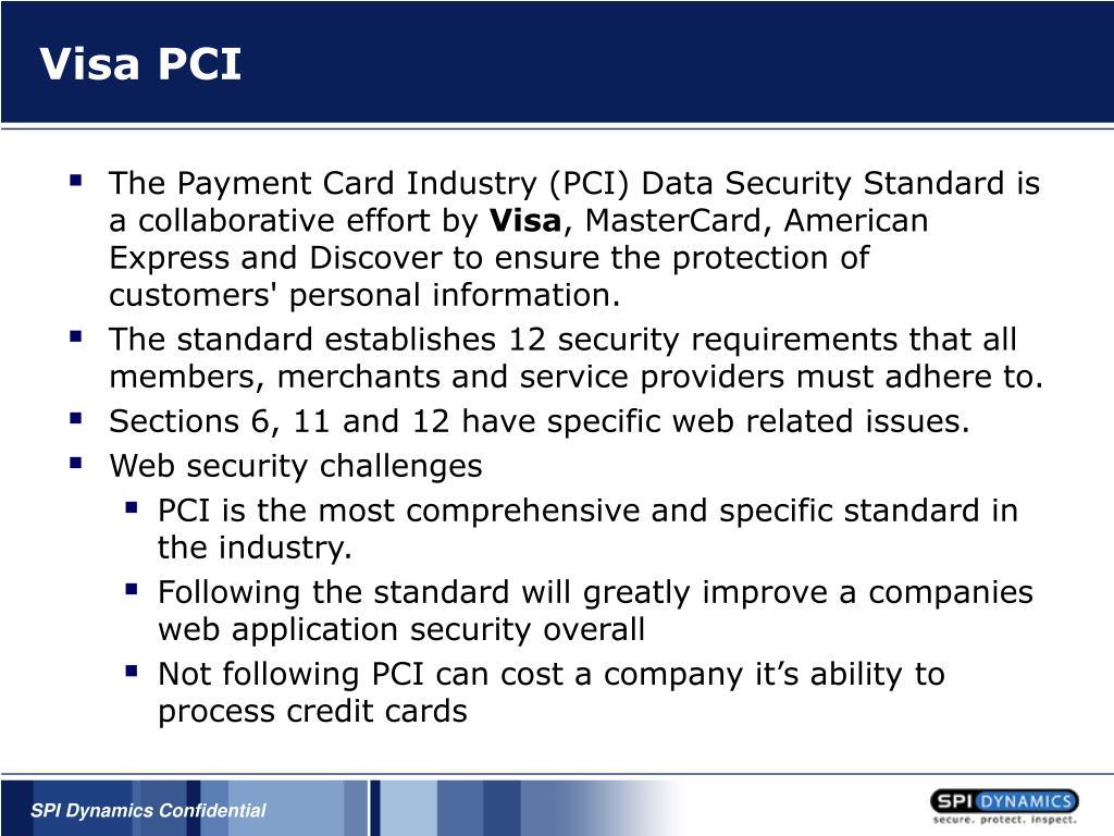 Visa PCI