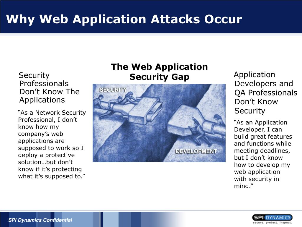Why Web Application Attacks Occur