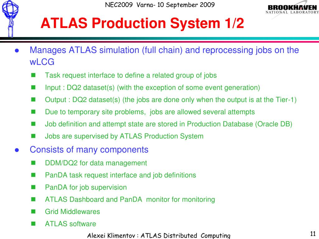 ATLAS Production System 1/2
